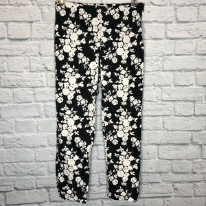 Charter Club Floral Ankle Crop Pants 6